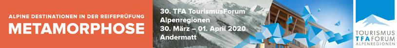 Tourismusformum Alpenregionen