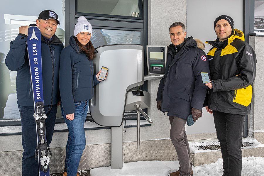 SKIDATA / Snow Space Salzburg: Handy wird zum Skipass
