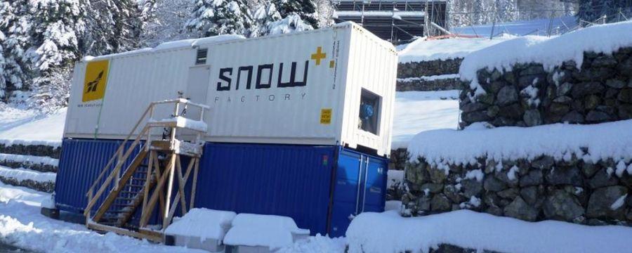 TechnoAlpin Snowfactory sichert den Weltcup