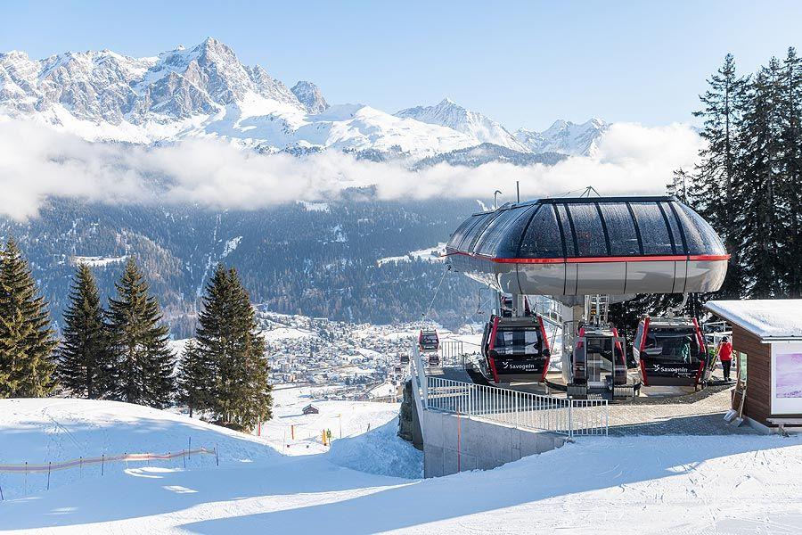 Leitner: Neue Kabinenbahn macht Savognin noch familienfreundlicher