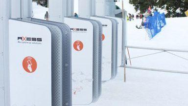 Axess: Doppelfrequenz-Zutritt zum Skilift