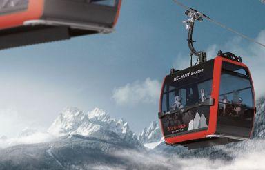 "3 Zinnen Dolomites Ski Resort: Neue Premium 10er Kabinenbahn ""Helmjet Sexten"""