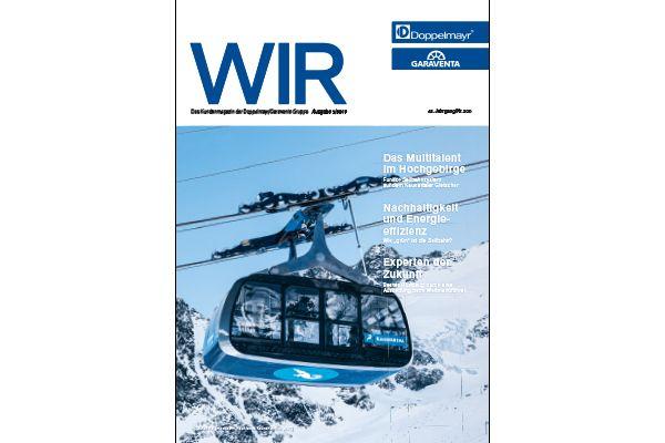 Doppelmayr: Neues Kundenmagazins WIR