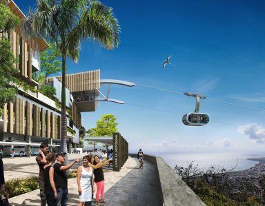 MND erhält den Zuschlag für den Bau der 2. städtischen Seilbahnlinie in Saint-Denis auf der Insel Réunion