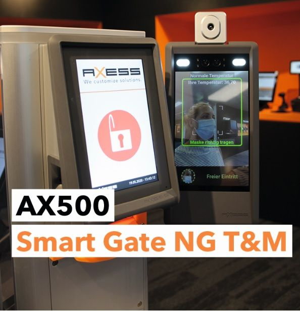 Axess: AX500 Smart Gate NG T&M