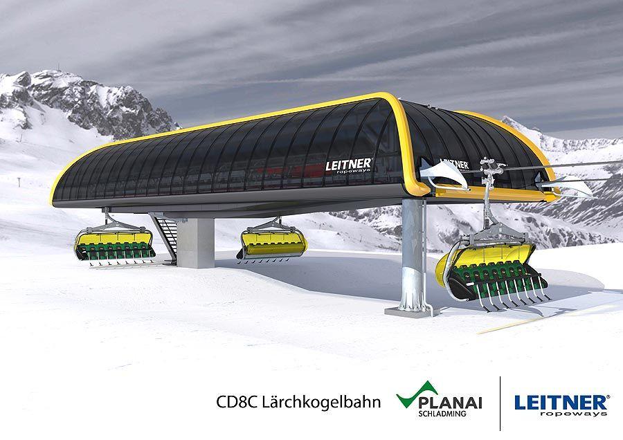 Leitner: Modernes Bahn-Kraftpaket im Herzen des Skigebiets Planai
