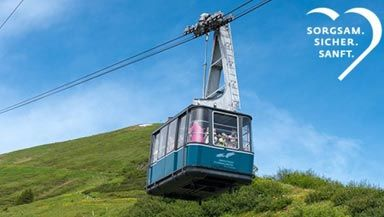 Digitaler Fahrtwind in der Fellhorn Gipfelbahn