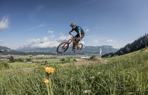 OD Trails: Neue Trails und Bike-Schlepplift in der Region St. Johann in Tirol