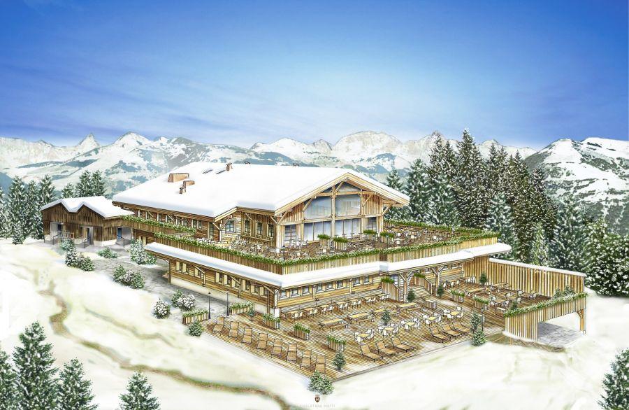 Marcus G. Lindner eröffnet in Gstaad das neue Bergrestaurant Eggli