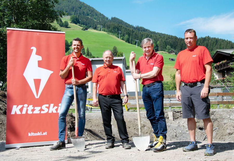 KitzSki modernisiert die Wasserfassung Aschauer Ache