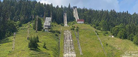 WPK in Bosnien: Überprüfungen im Olympiaskigebiet 1984