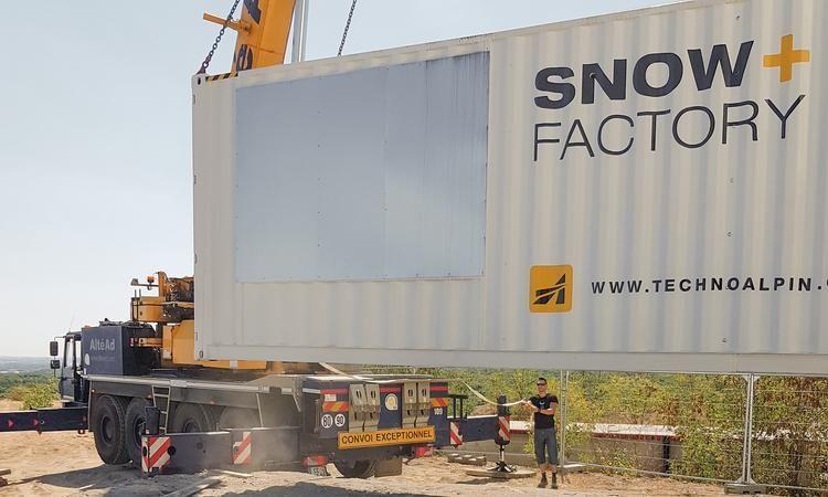 TechnoAlpin: Erste Snowfactory für ein französisches Indoor-Ski-Zentrum