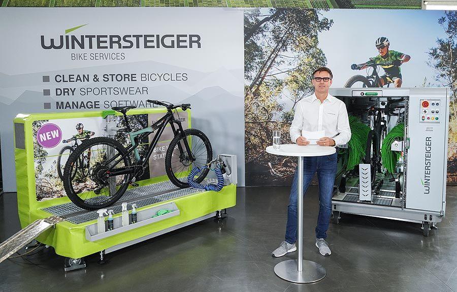 """Wintersteiger feiert Weltpremiere mit """"Bike Services"""""""