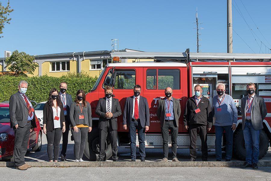 TÜV AUSTRIA Brandschutztagung für Seilbahnen und Schlepplifte