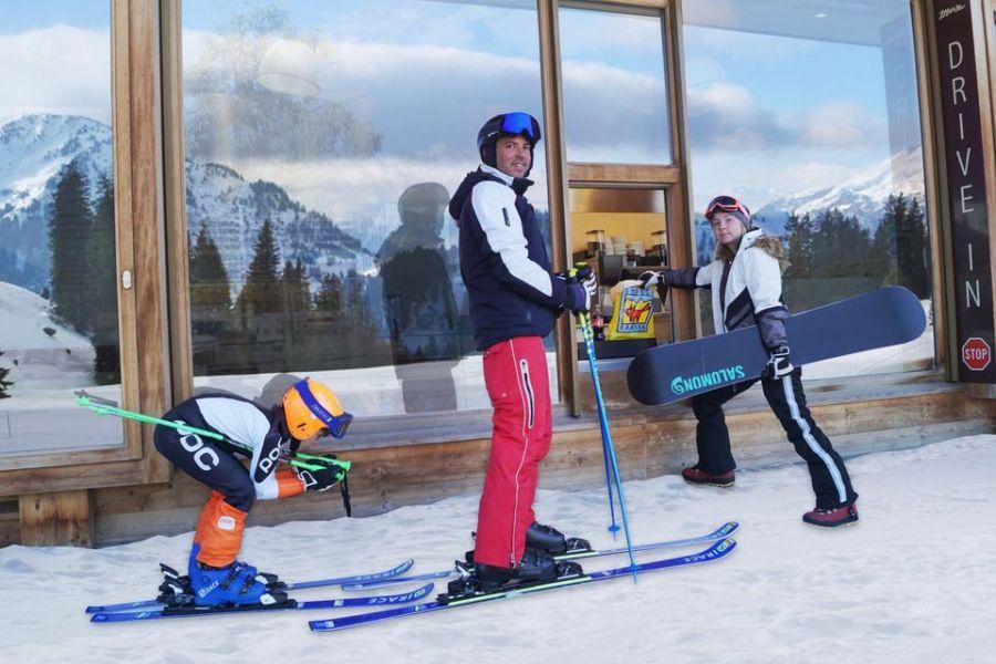 Grüsch-Danusa: Erster Ski-Drive-in auf 1800m ü.M.