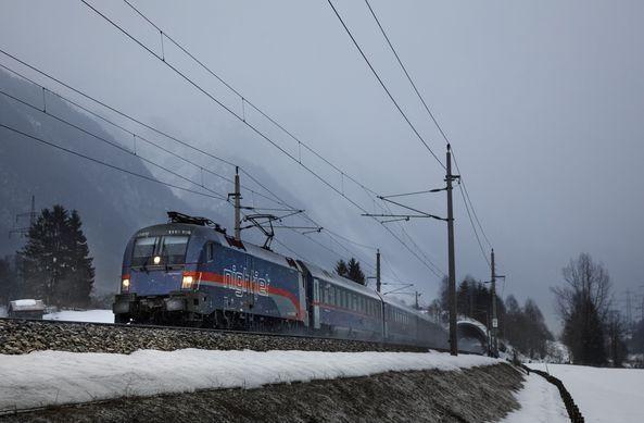 """""""Im Nightjet zum Schnee"""" startet in zweite SaisonAktualisiert: 25.09.2020"""