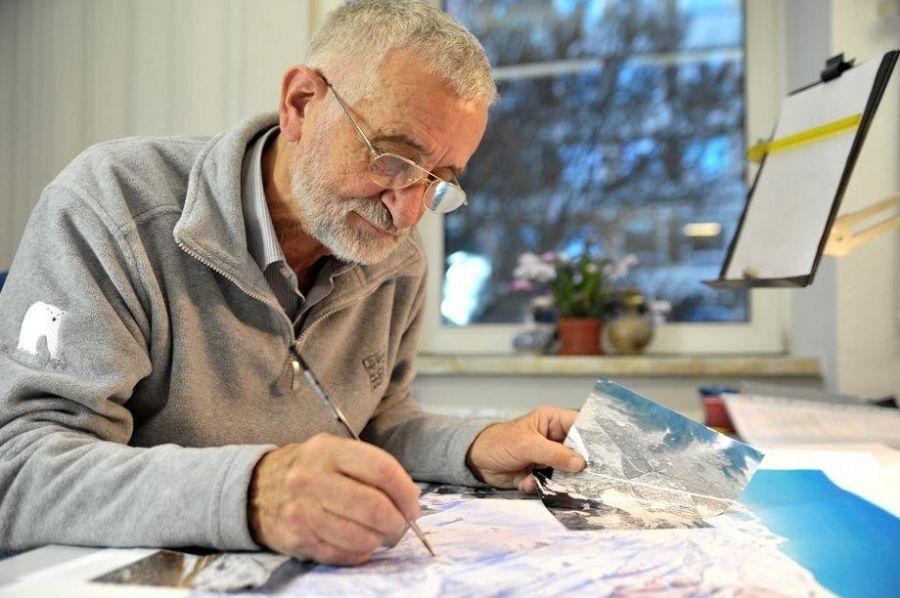 In Erinnerunga an einen ganz großen weltbekannten Panorama-Künstler, Heinz Vielkind
