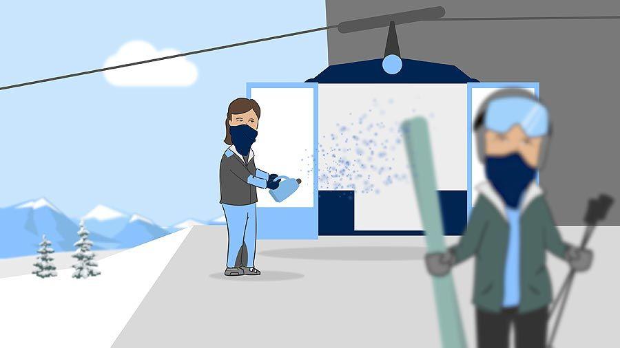Hermann Maier zeigt wie Skifahren im kommenden Winter funktionieren kann