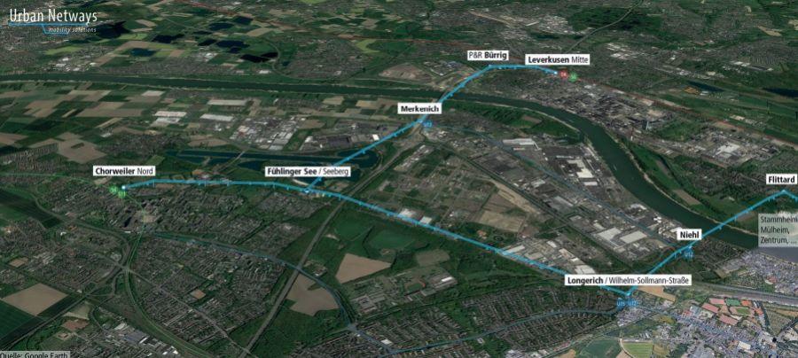 Köln als Forschungsstandort für urbane und vernetzte Seilbahnsysteme