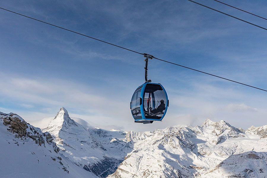 """Doppelmayr: Erste """"AURO Seilbahn"""" in Zermatt eröffnet"""
