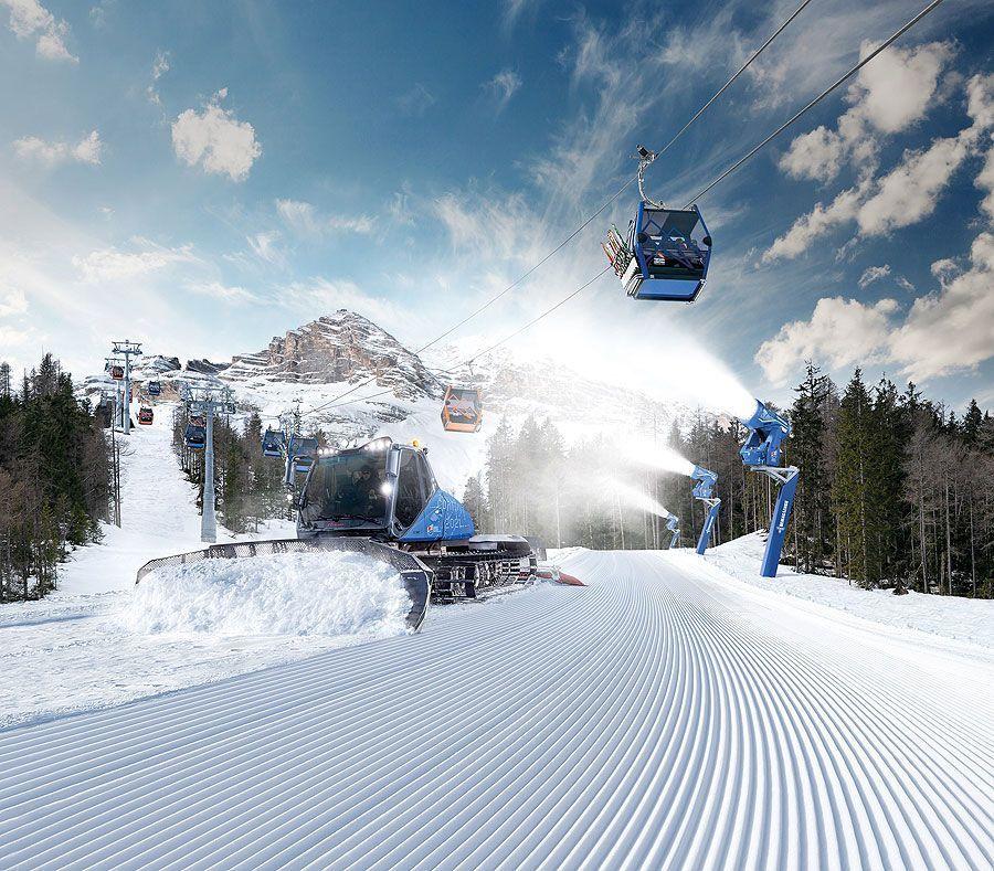 LEITNER, PRINOTH, DEMACLENKO Starker technischer Support für die Ski-WM Cortina 2021