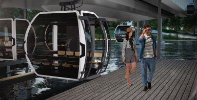 Doppelmayr: Seilbahn für die Floriade: eine Fahrt in die Zukunft