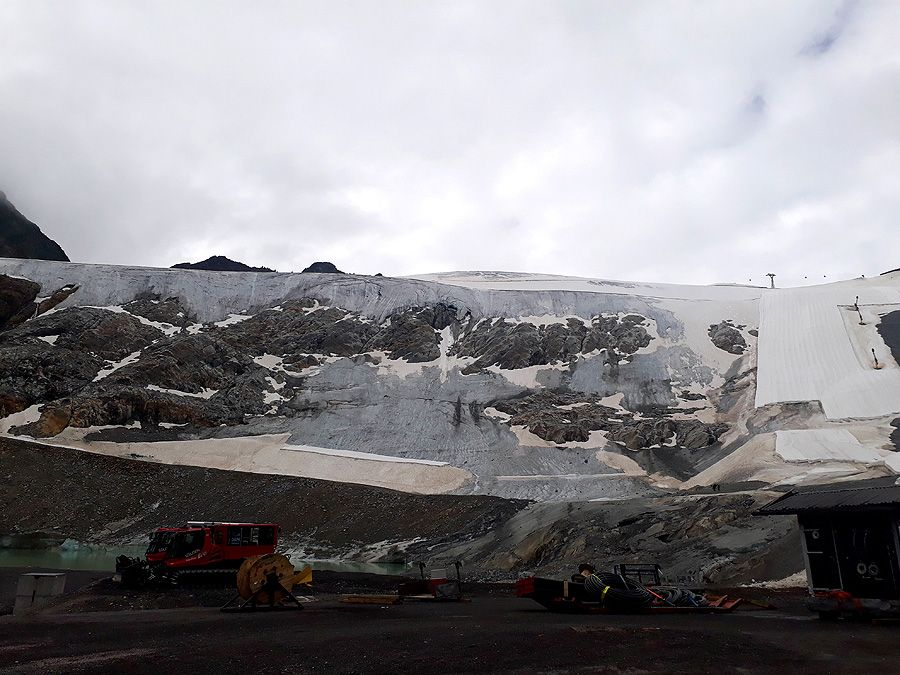 Tirolder Umweltanwalt: Gletscherskigebiete auf dünnem Eis?