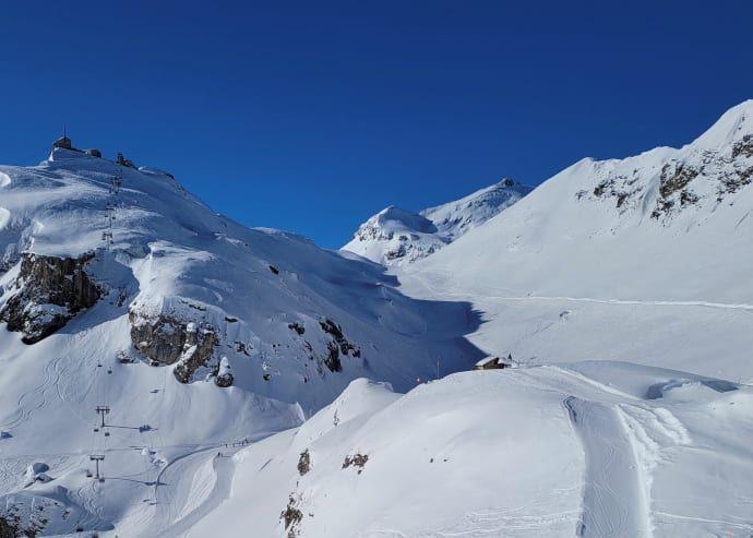Schilthorn Projekt Snowfarming: Vorprüfungsbericht abgeschlossen