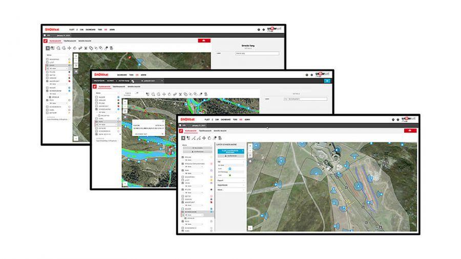 Snowsat GIS Daten Manager