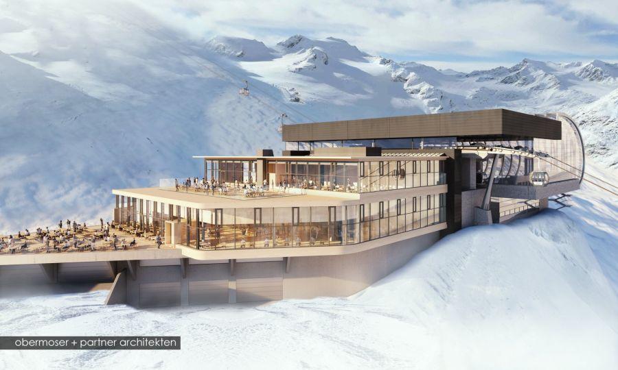 Sölden: Neues Restaurant an der Mittelstation Gaislachkogl