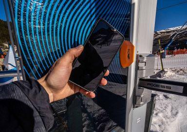 Grandvalira und Axess sind innovativ - Das Handy wird zum Skiticket!