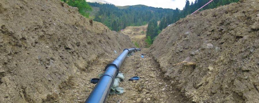 TechnoAlpin: Alpinal Rohre – zuverlässige Wasserversorgung zur Schneeerzeugung