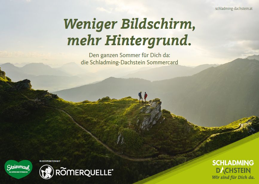 Schladming-Dachstein geht mit Sommer-Marketing in die Offensive