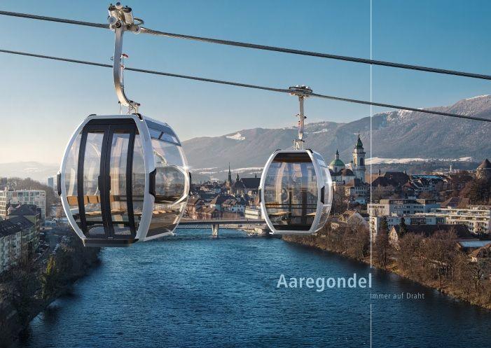 Solothurn: Aaregondel – eine urbane, ikonographische Vision