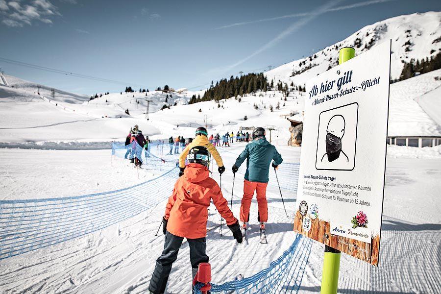 Arosa Bergbahnen: Zwischenbilanz zum Geschäftsjahr 2020/21