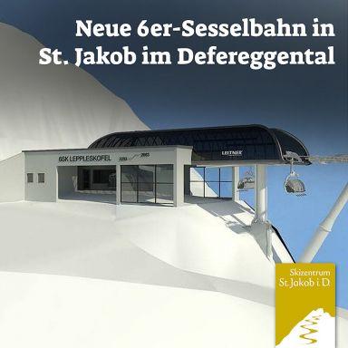 St. Jakob: Neue 6er-Sesselbahn