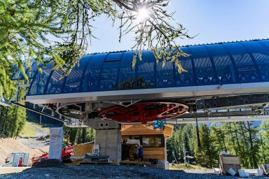Les Orres / Frankreich: Neue 6-er Sesselbahn