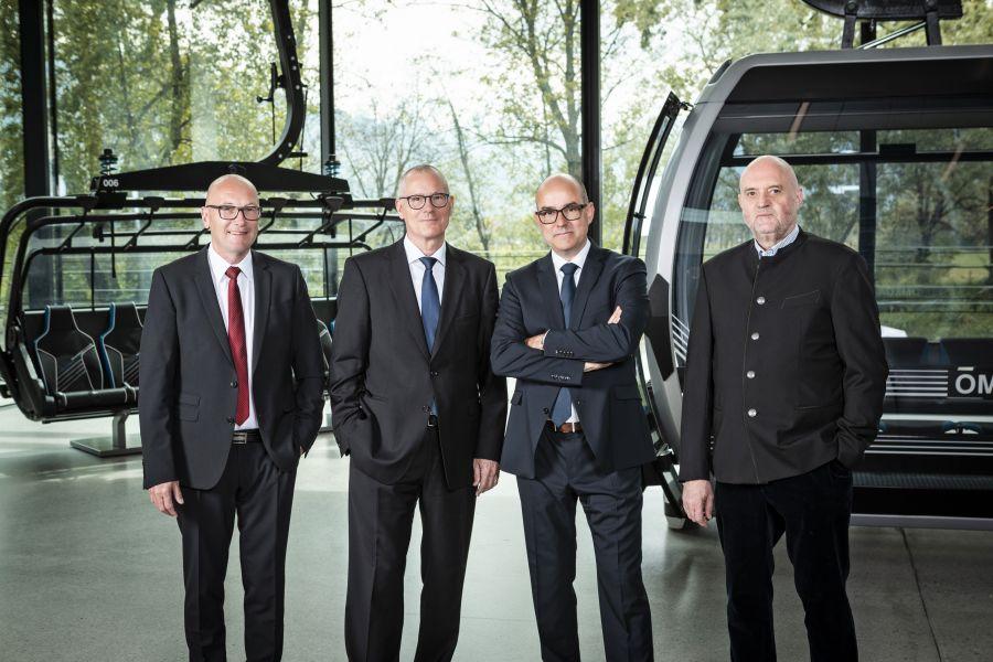 Neues Management der Doppelmayr Gruppe