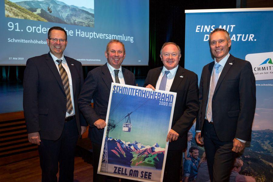Die Schmittenhöhebahn AG präsentiert bestes Ergebnis seit Bestehen