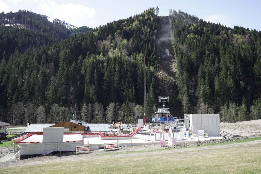 Schmitten: Bau der Sektion I des zellamseeXpress