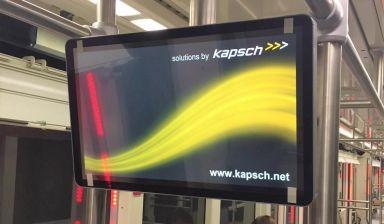 Kapsch Fahrgastinformationssysteme für Dorf-U-Bahn Serfaus