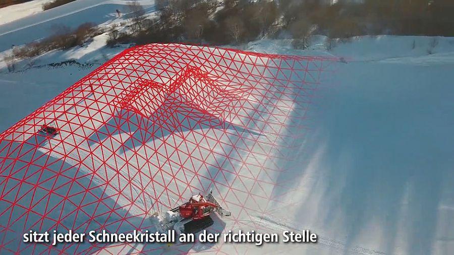 Pistenbully: Snowsat für Parks