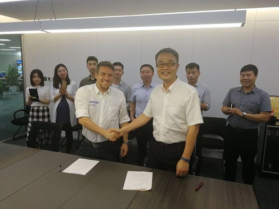 Shaanxi Junjing Ropeway und IMMOOS arbeiten künftig noch enger zusammen