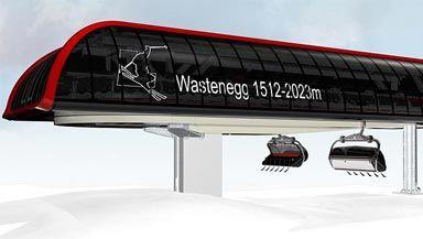 "Ladurns: Neue 6er-Sesselbahn ""Wastenegg"""