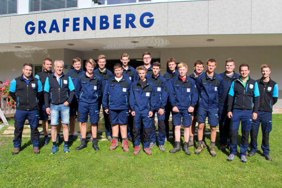 Snow Space Salzburg begrüßt sechs neue Lehrlinge im Team