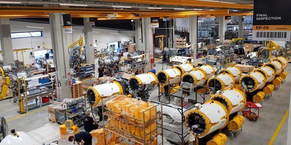 Produktion auf Hochtouren bei TechnoAlpin