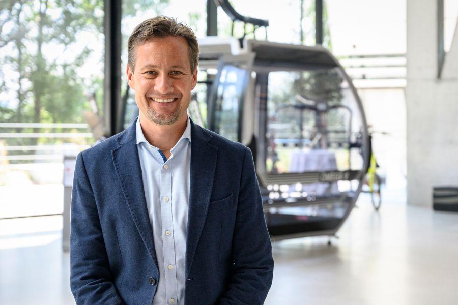 Jürgen Pichler ist neuer Marketingleiter bei Doppelmayr
