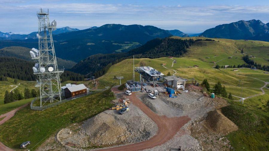 Almenwelt Lofer: Stand der Bauarbeiten  Senderexpress