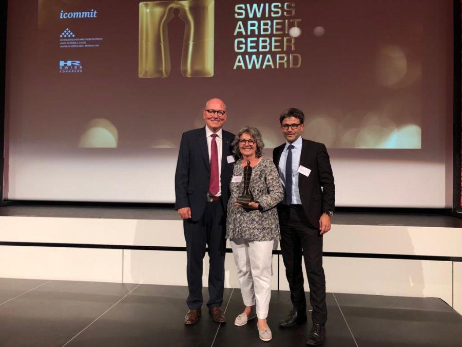Stanserhorn gewinnt Swiss Arbeitgeber Award 2019