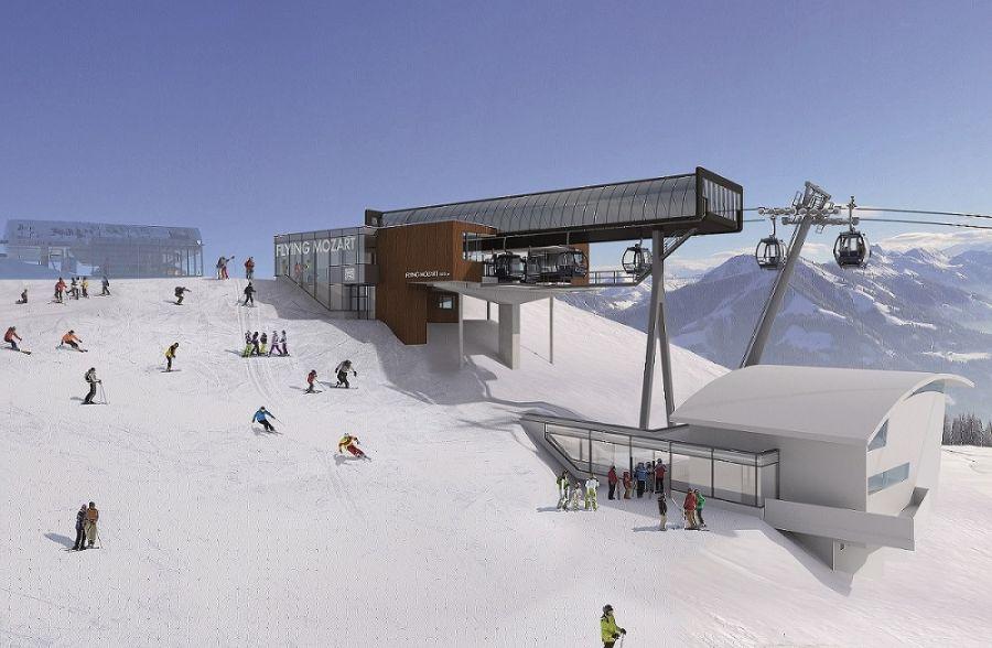 Snow Space Salzburg: Zwei Seilbahnprojekte